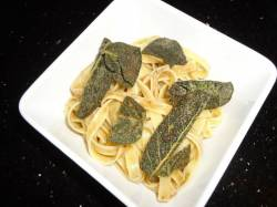 Who's Rubbing You The Wrong Way? Brown Butter and Sage Pasta