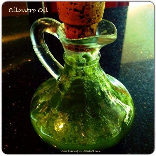 Cilantro Oil