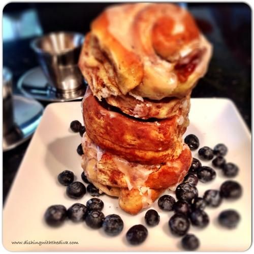 Cinnamon Rolls with Bacon