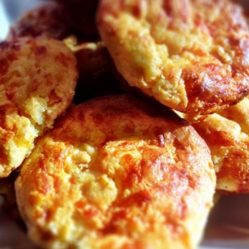 Corn Muffins with Cheddar Cheese